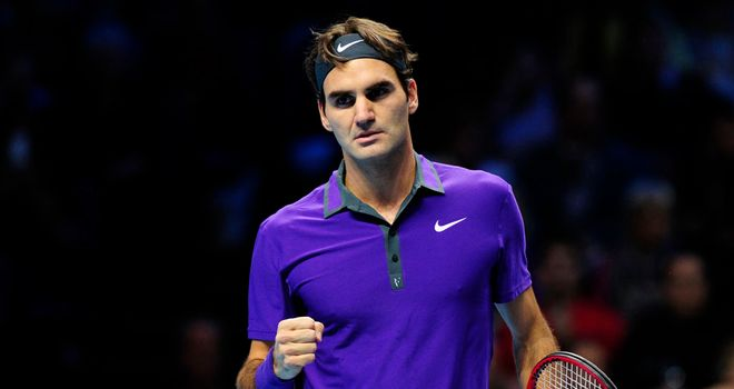 Roger Federer: Started ATP World Tour Finals campaign in style