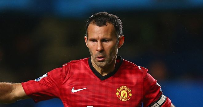 Ryan Giggs: Pleased with the lift Robin van Persie has given Manchester United