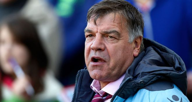 Sam Allardyce: Handed new deal to youngster