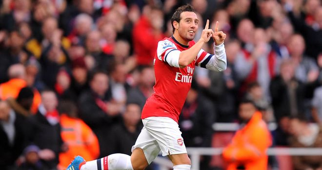 Santi Cazorla: Delivered a midfield masterclass in Arsenal's derby win over Tottenham