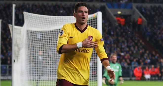 Olivier Giroud: Has been among the goals in recent weeks