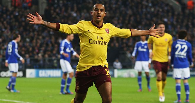 Theo Walcott: Looking for a run in the Arsenal team after starting against Schalke