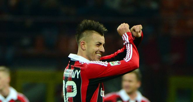 Stephan El Shaarawy: Scored for AC Milan in draw with Inter Milan