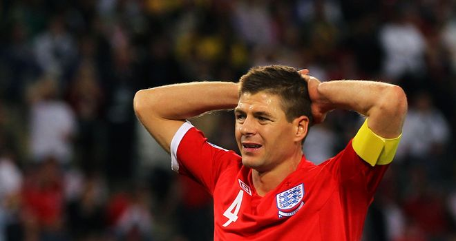 Steven Gerrard: Set to win his 100th England cap when he faces Sweden