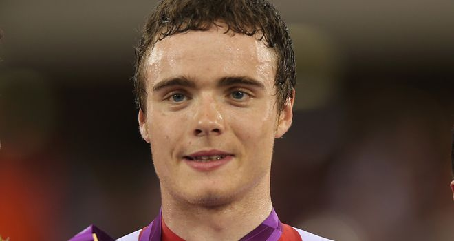 Steven Burke is one of the older heads in the British team pursuit squad despite being only 24