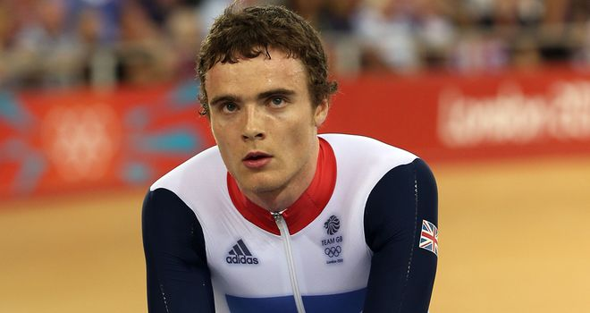 Burke: Forced to pull out of Track World Cup with Jo Rowsell