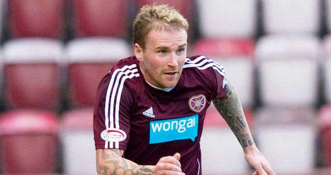 Ryan Stevenson: Opened the scoring for Hearts