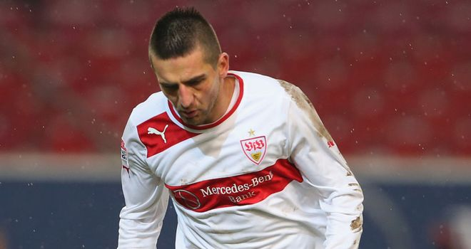 Vedad Ibisevic: On target for Stuttgart