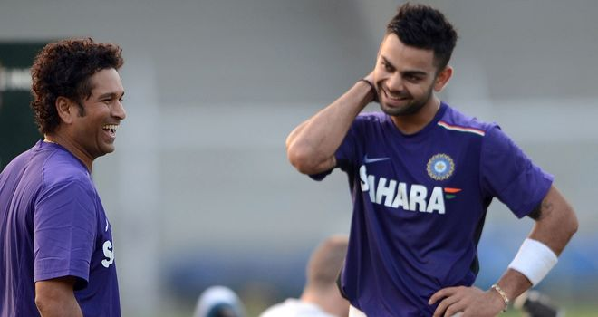 Virat Kohli's form could help to focus Sachin Tendulkar's mind, says Nasser