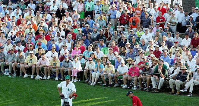 Tiger Woods' chip shot at 16 tops Golf Monthly's list