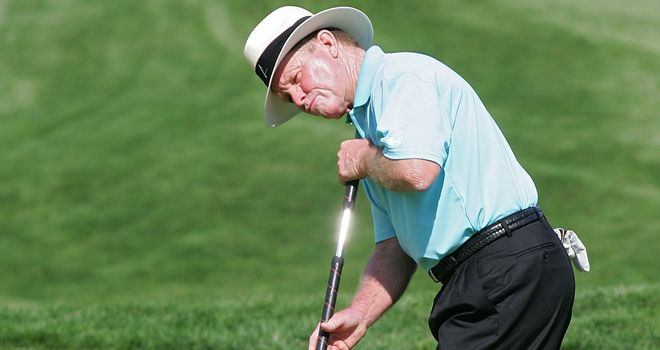 The anchoring of the putter is set to be outlawed