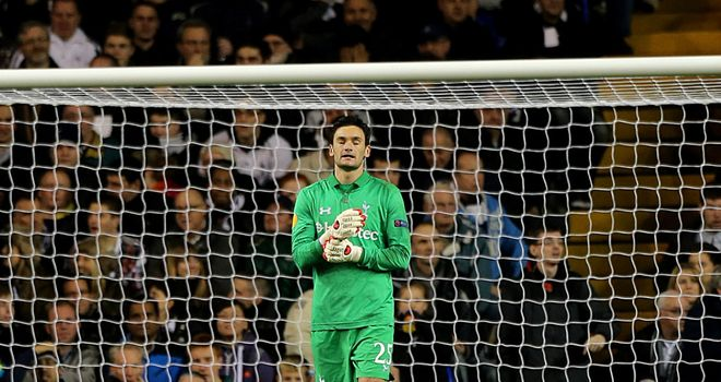 Hugo Lloris: Happy with his starting place at Tottenham