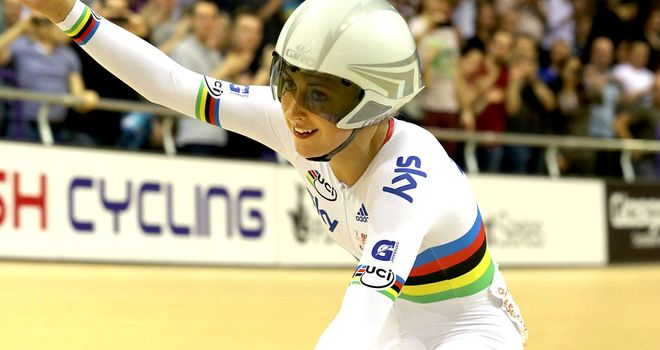 Laura Trott: Claimed another gold medal as he star continues to rise
