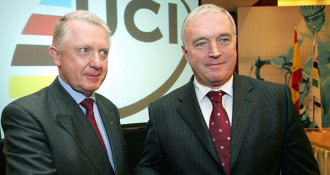 Pat McQuaid (right): Under pressure from new group