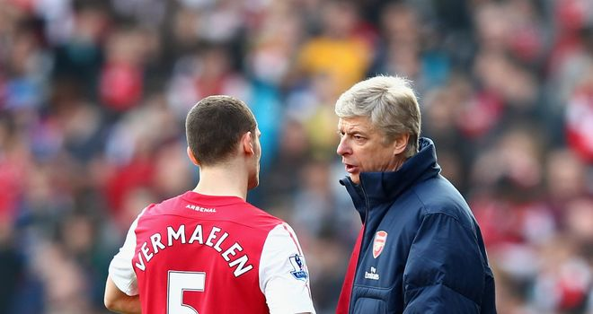 Thomas Vermaelen and Arsene Wenger: Arsenal duo confident they can improve