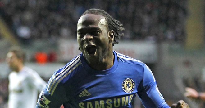 Victor Moses: Scored a crucial goal for Chelsea in the Champions League