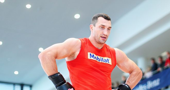 Wladimir Klischko: Sparred with Pianeta last year