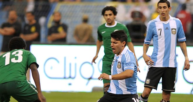 Sergio Aguero: Denied in Riyadh