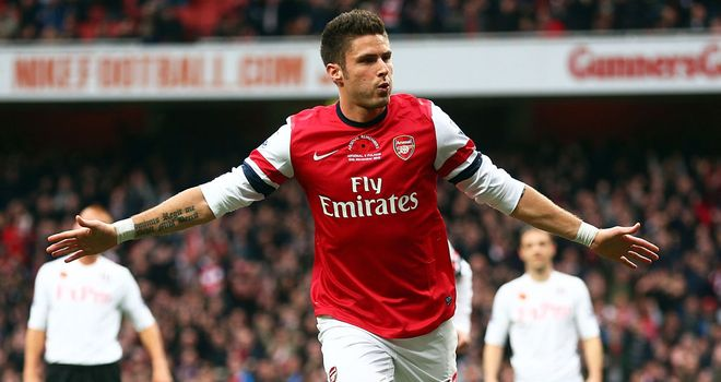 Olivier Giroud: Thinks Arsenal need to win to stay on course to qualify