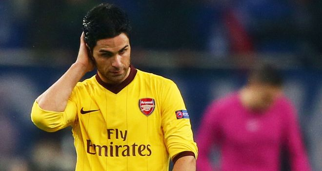 Mikel Arteta: Claims the Arsenal players are angry with their current run of form