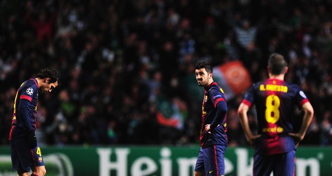 Barcelona: Shocked by Celtic at Parkhead