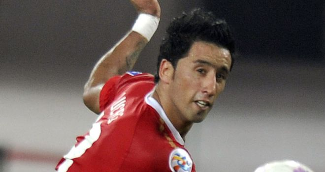 Lucas Barrios: Has been linked with a move back to Europe
