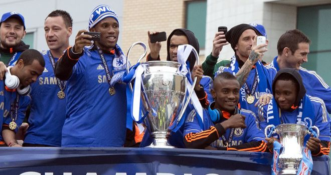 Chelsea: Victorious in the Champions League last season