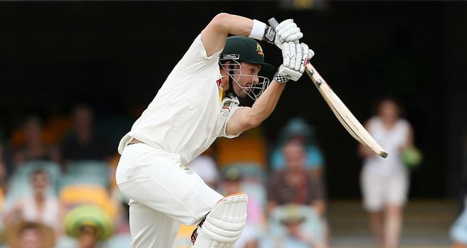 Ed Cowan: Bringing his sweet drives to Trent Bridge in 2013