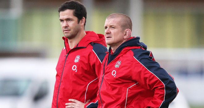 Andy Farrell and Graham Rowntree: Reprising their England coaching roles with the Lions