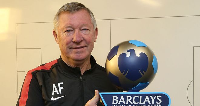 Sir Alex Ferguson: 27th award on 26th anniversary