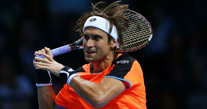 Ferrer: conquered by Federer at the O2