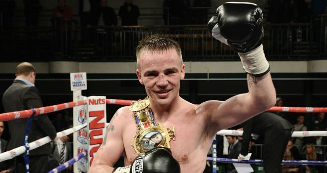 Frankie Gavin: new British champion (Photographer credit: www.leighdawneyphotography.com)