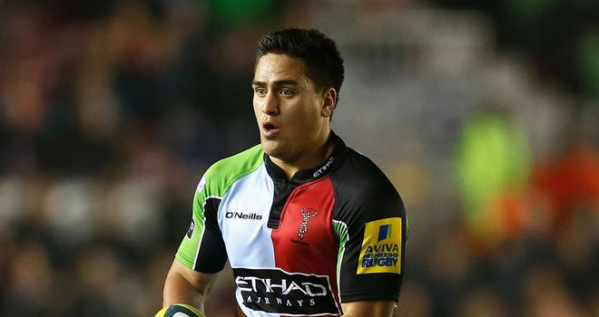 Ben Botica: kicked five penalties for Harlequins