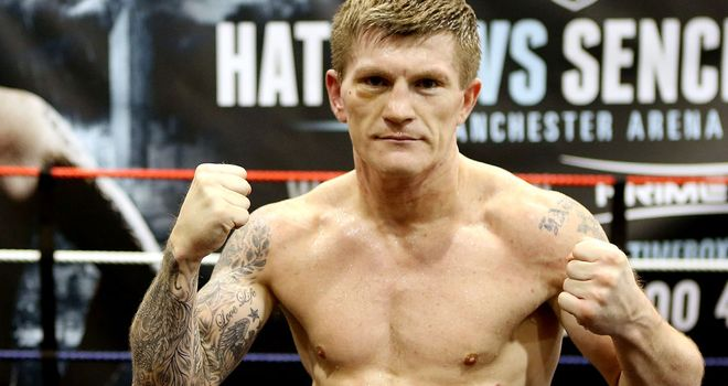 Ricky Hatton: more than three years out of the ring