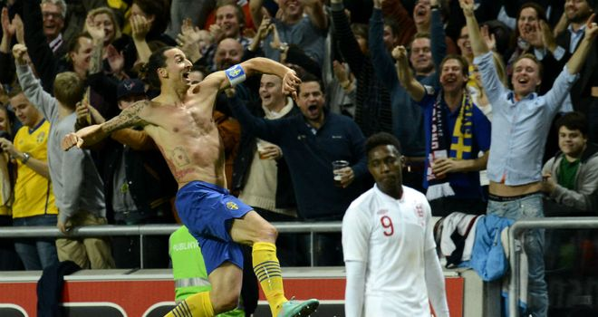 Beckham says Ibrahimovic's overhead-kick against England in 2012 was the striker's best goal