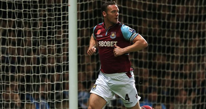 Kevin Nolan: West Ham captain is feeling confident