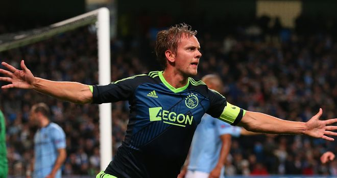 Siem de Jong: Eyeing a return to form for Ajax