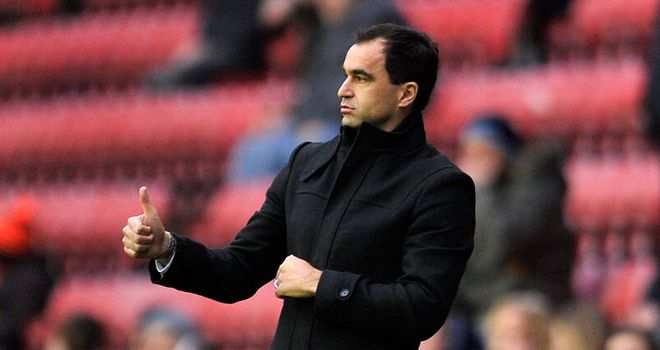 Roberto Martinez: Wigan boss not worrying about position in the Premier League table