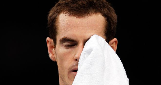 Andy Murray: Will head straight to London following defeat at Paris Masters