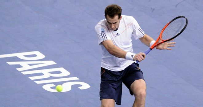Andy Murray: British number one made early exit from Paris Masters