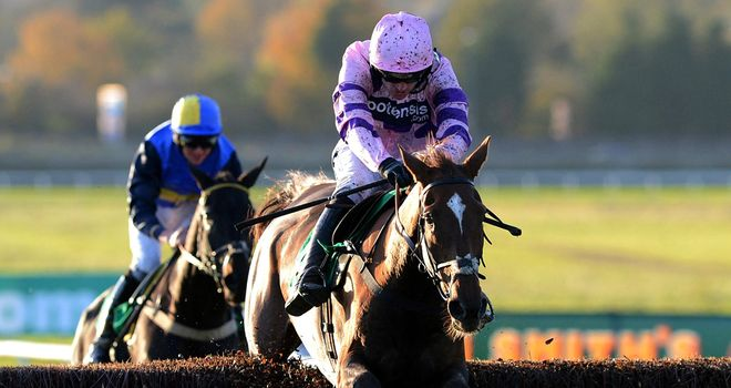 Silviniaco Conti: Ran out an impressive winner