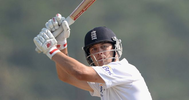 Trott: the England batsman and his colleagues must be patient in India
