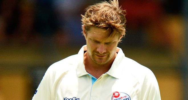 Shane Watson: No second Test comeback for all-rounder