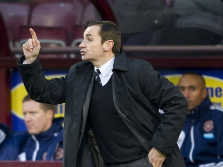 Danny Lennon: Buoyed by Celtic's inconsistency