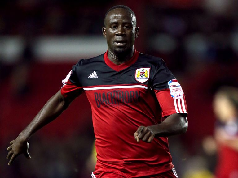 Albert Adomah: Back in training