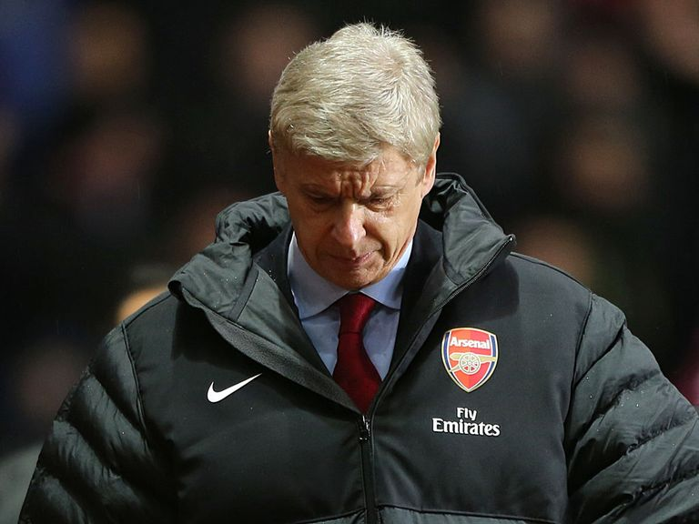 Wenger: Refuses to panic