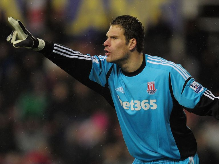 Asmir Begovic: Keeping his focus on Stoke