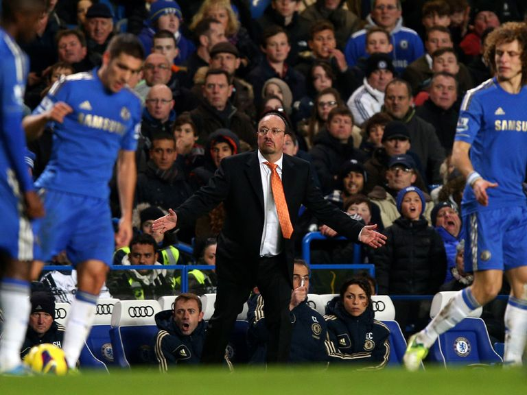 Rafael Benitez: Plans to rotate Chelsea squad