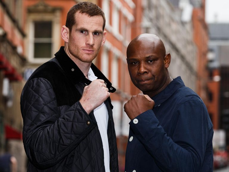 David Price (l): Full of respect for Matt Skelton