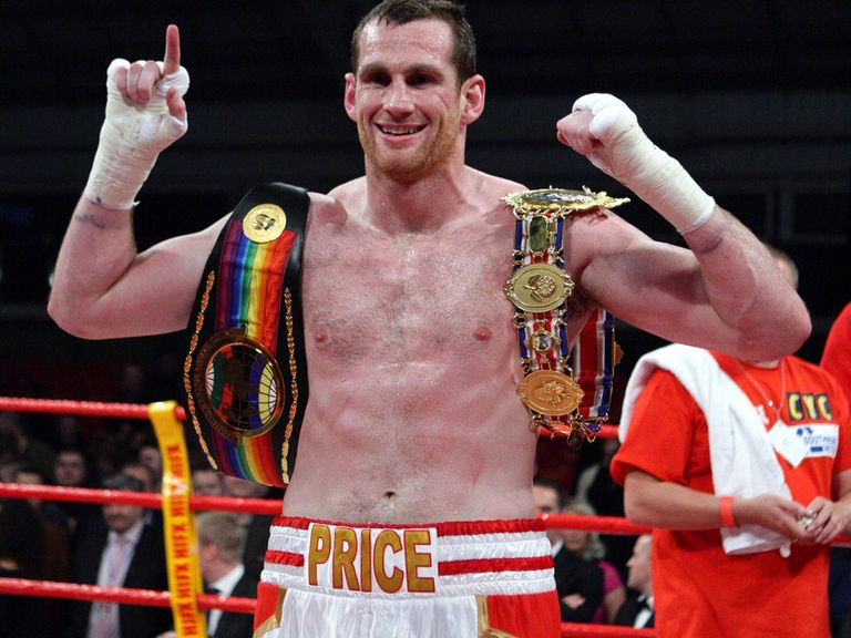 David Price: Backed by David Haye to beat rival Fury